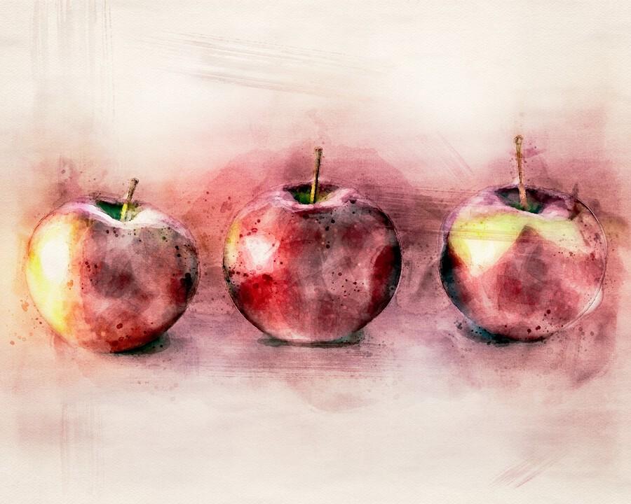Three Apples  Print
