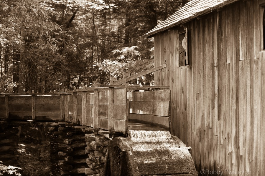 The John Cable Grist Mill  Print