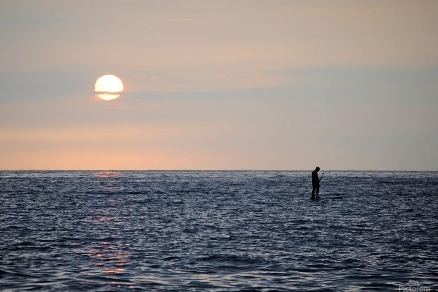 Sinking Sunset  Print