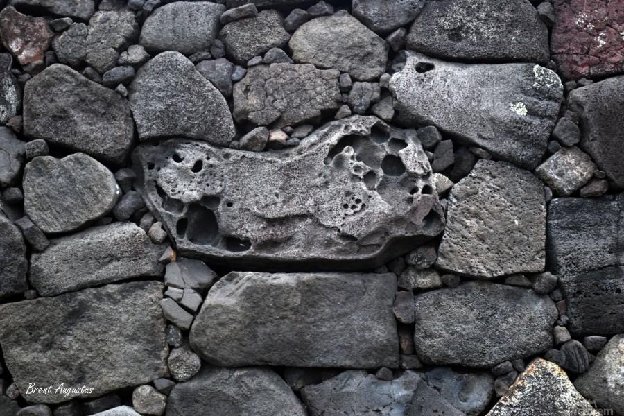 Lava brick  Print