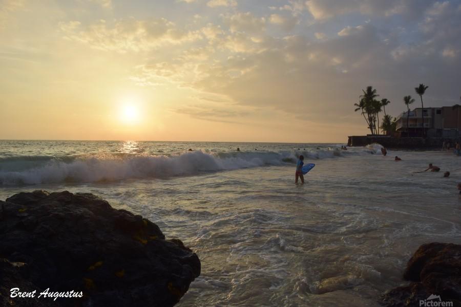 Hawaii Sunset  Print