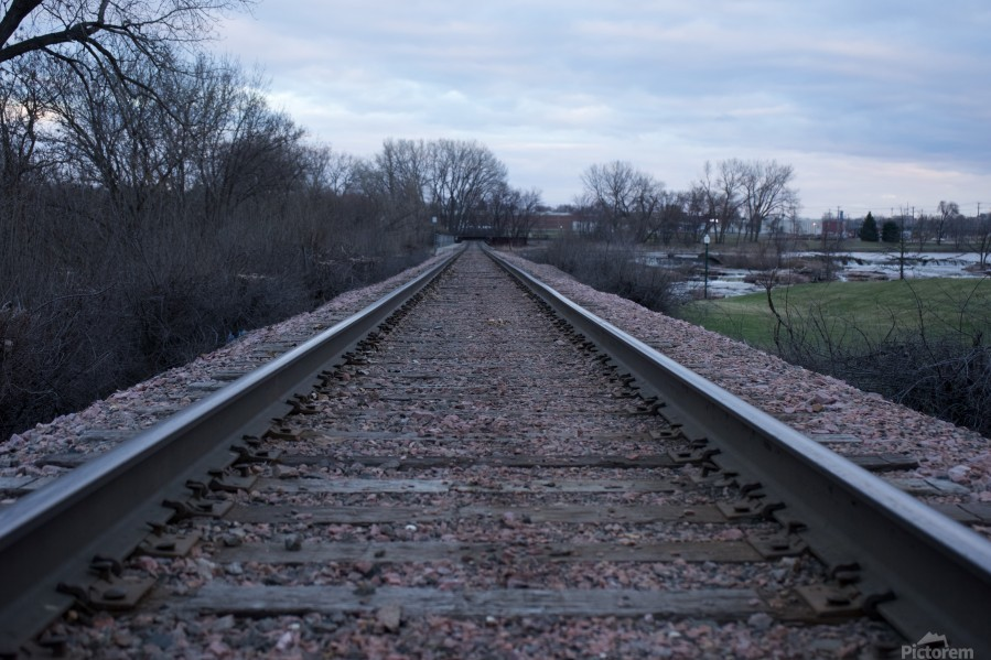 Train Tracks  Print