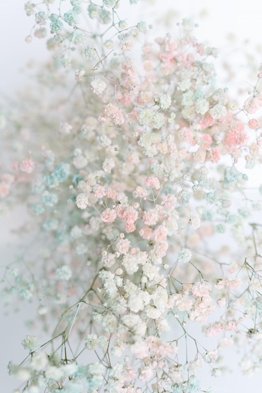 Daltana Pastel Floral Aera  Print