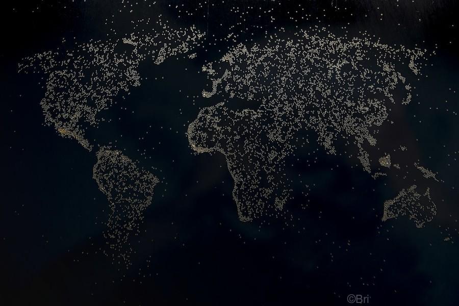 Dark Continent Milina  Print