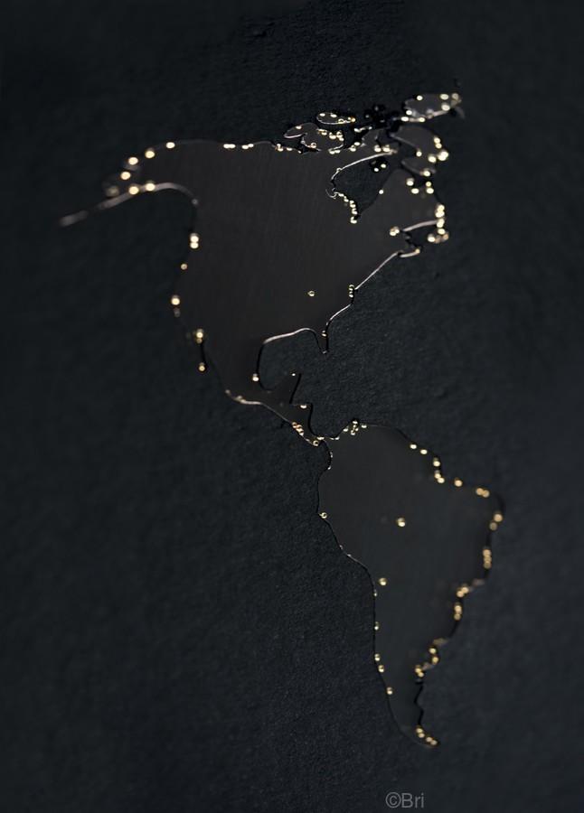 Dark Continent Diara  Print