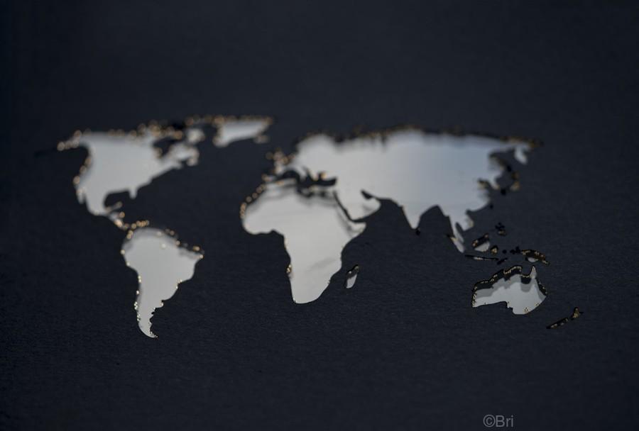 Dark Continent GoGo  Print