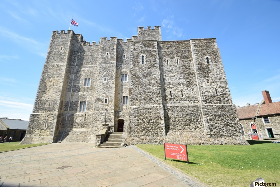 DOVER CASTLE, UK  imprimons