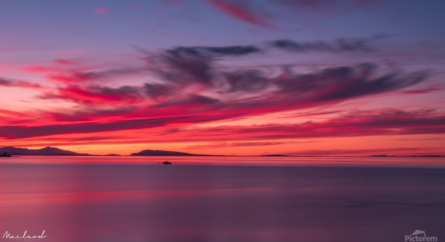 Late summer sunset DSC_3498  Print