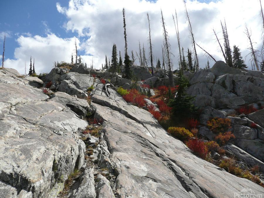 Easy Climb to Grouse Mountain  Print
