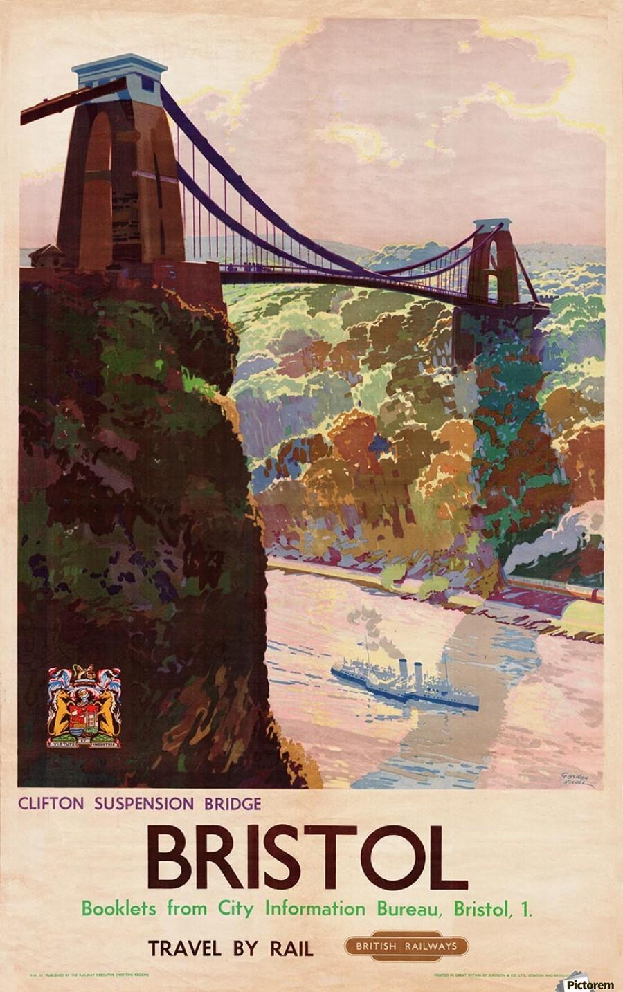 British rail bristol clifton suspension bridge