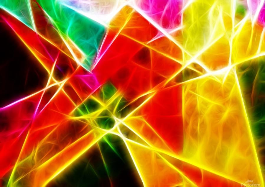 Geometric Colors  Print