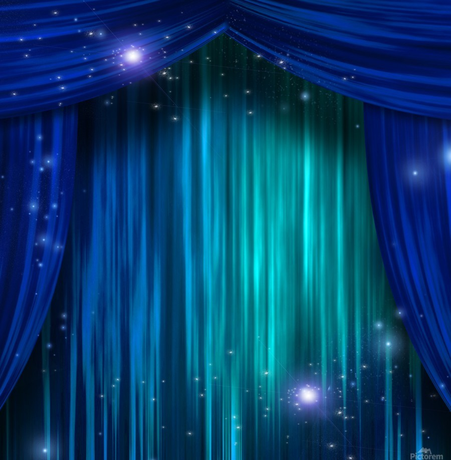Theater Curtains - Bruce Rolff Canvas
