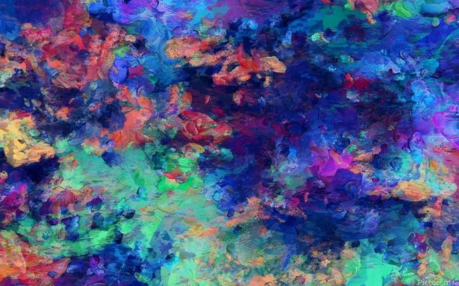 Abstract Colors  Print