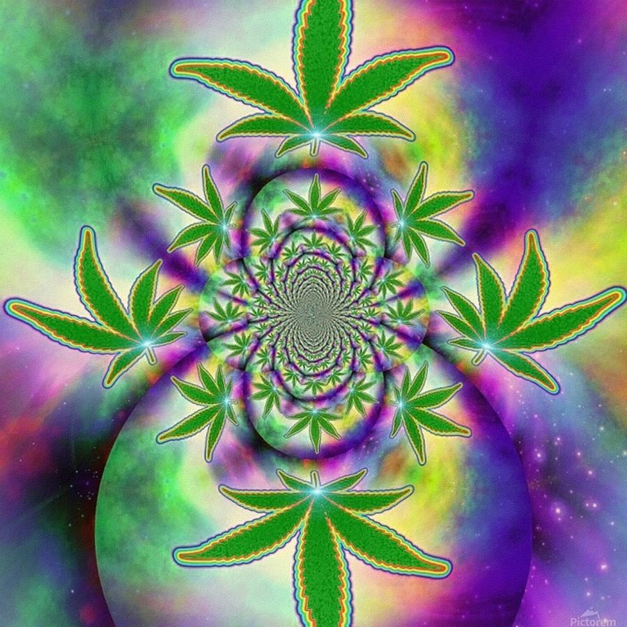 Marijuana Leaf  Print