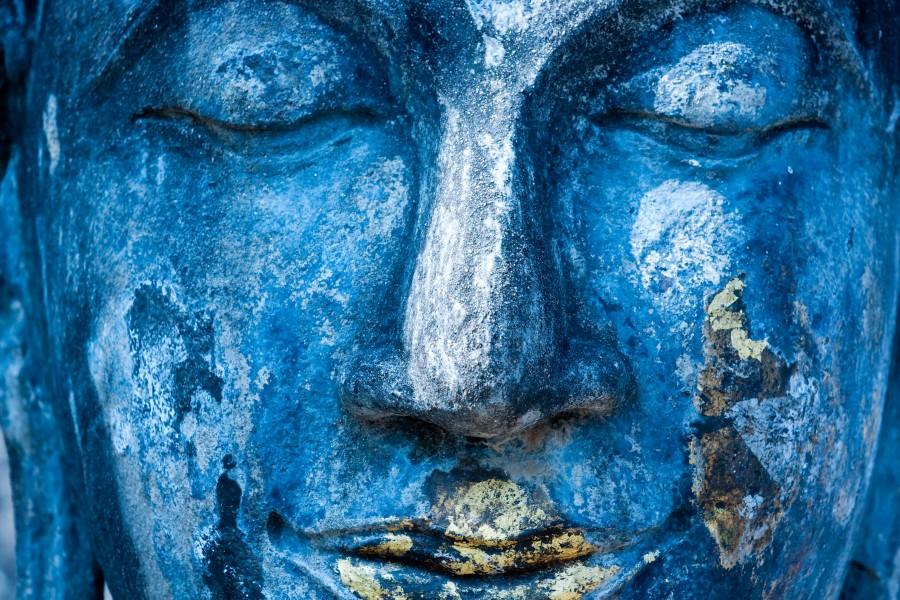 Buddha Face  Print