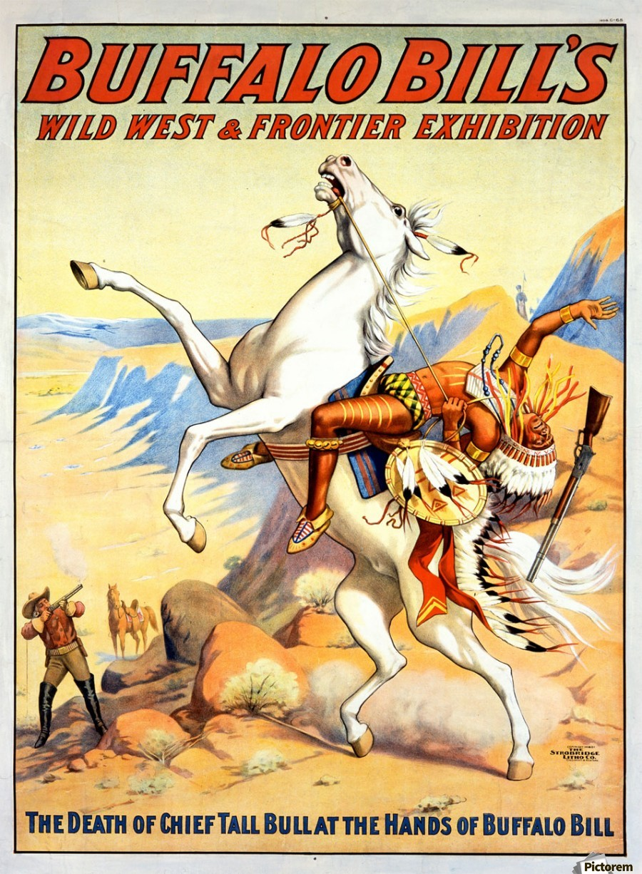 Buffalo Bill Wild West And Frontier Exhibition Vintage
