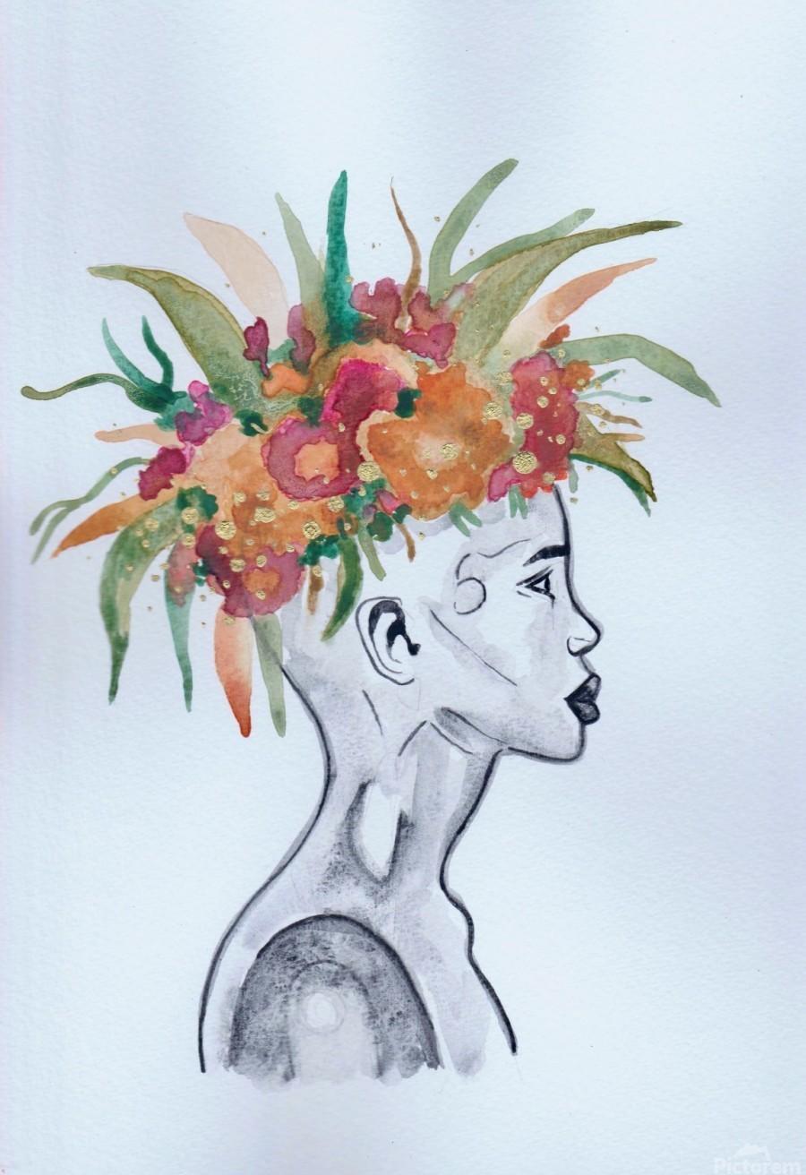 Crowned   Print
