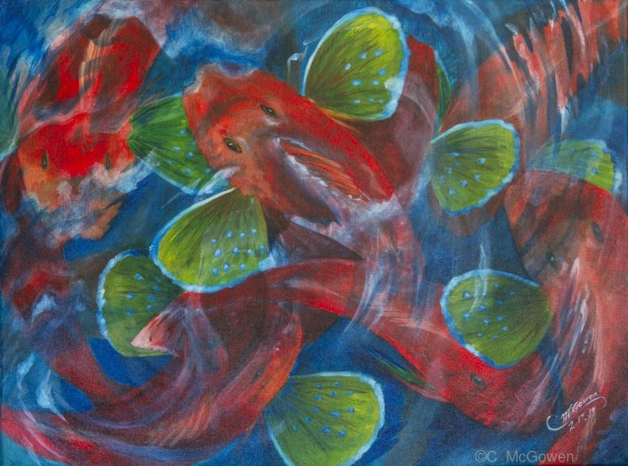 Sea Robins  Print