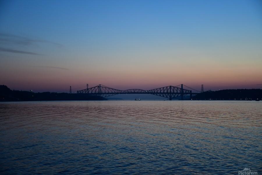 Le pont de Québec a 100 ans  Imprimer