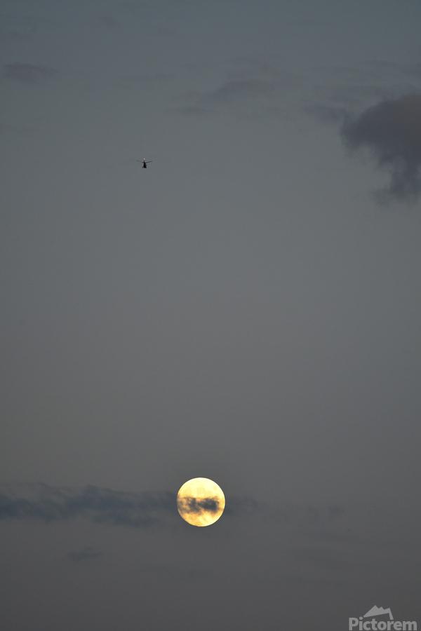 Clair de lune  Imprimer