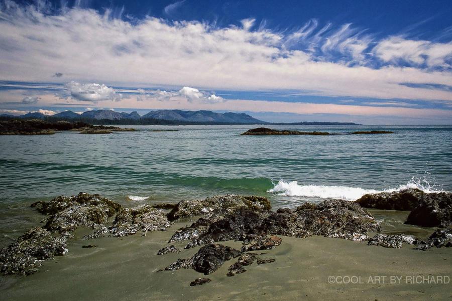 Peaceful Pacific Beach  Print