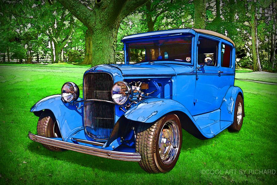 1930 Ford  Print