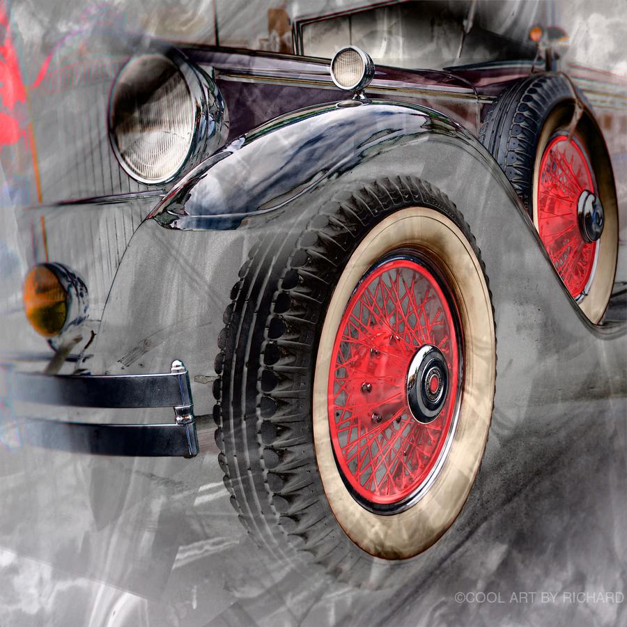 1930 Packard  Print