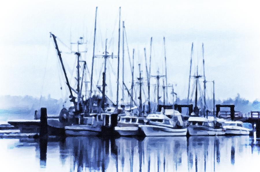 Fishers Wharf  Print