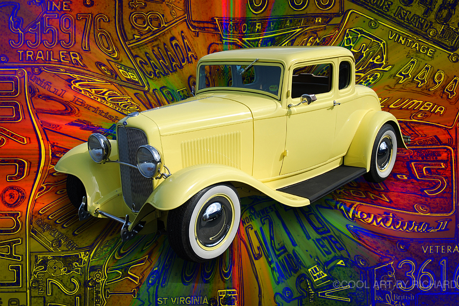 1932 Ford Coupe  Print