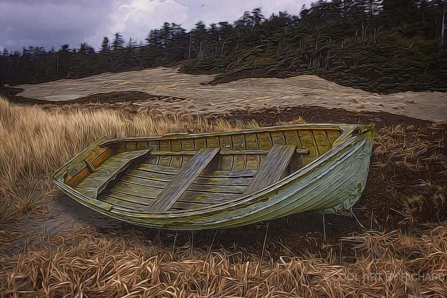 Clinker-built Rowboat  Print