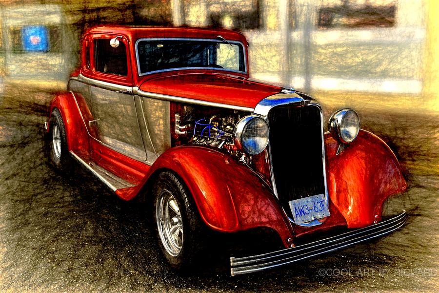 1933 Dodge Coupe  Print