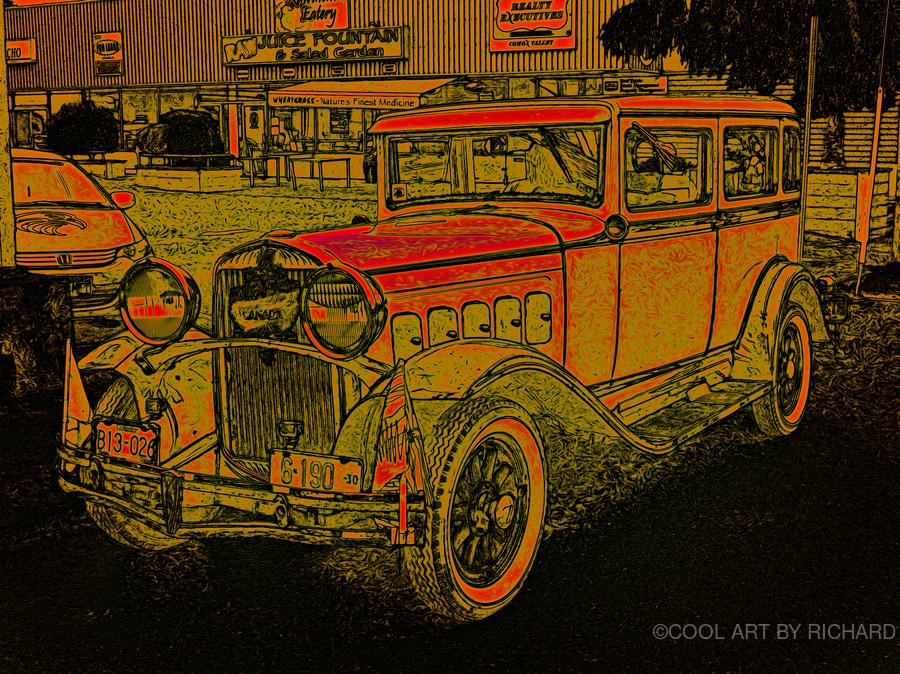 1930 Hudson  Print