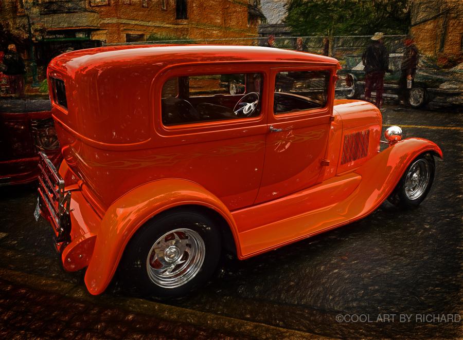 1929 Ford Tudor Sedan  Print