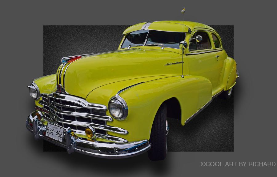 1948 Pontiac Silver Streak  Print
