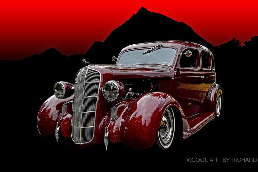 1936 Dodge 4-Door Sedan  Print