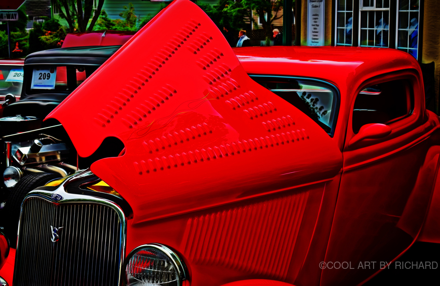 1933 Ford Window Coupe  Print