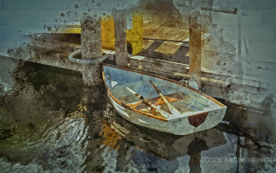 Rowboat  Print