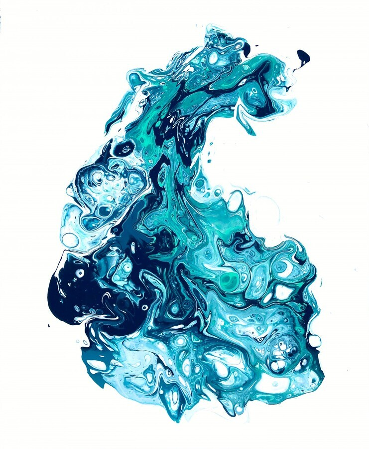 Surf Wave  Print