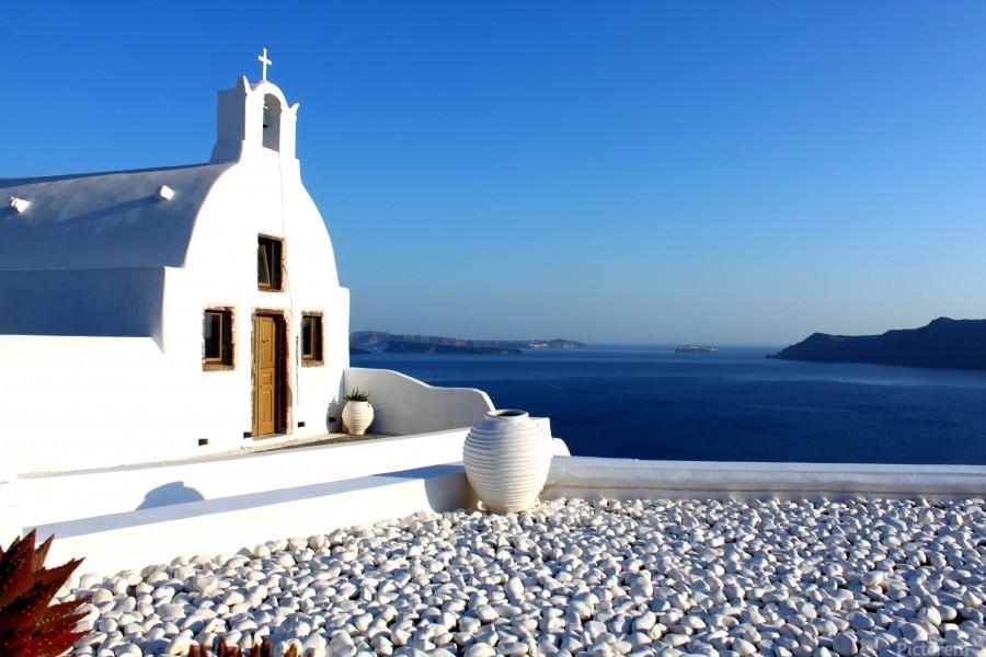 S A N T O R I N I - Greece  Print