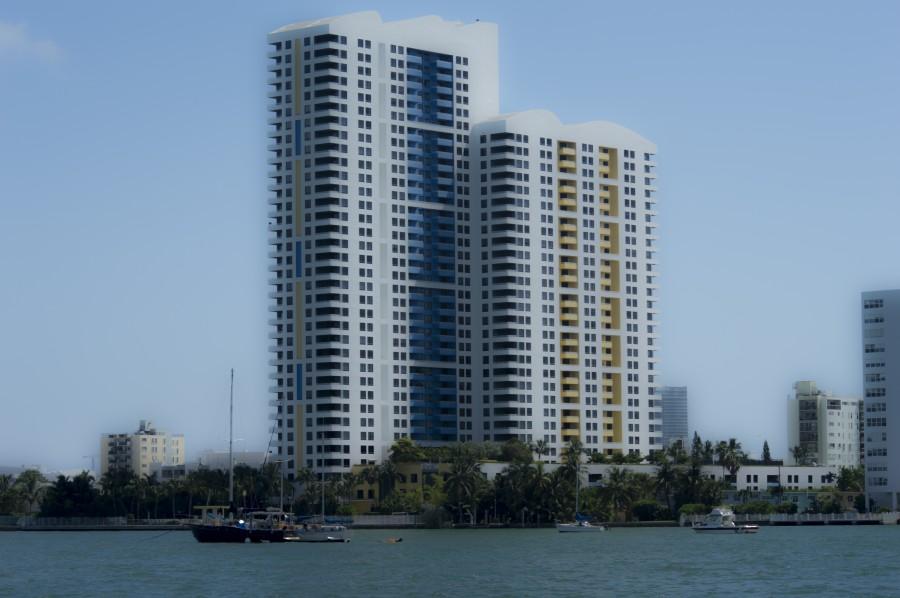 Miami Beach Buildings  Print