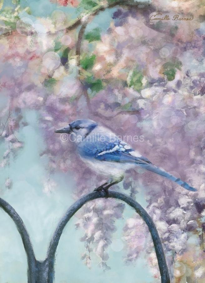 Garden bird  Print