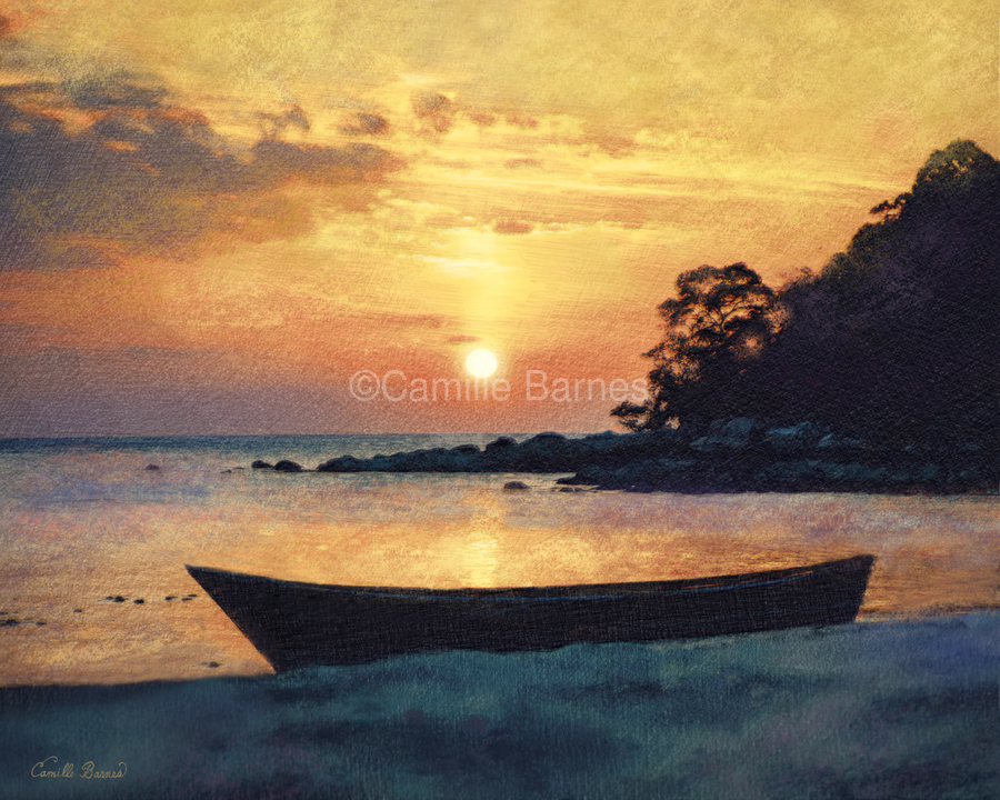 If I had a boat  Print