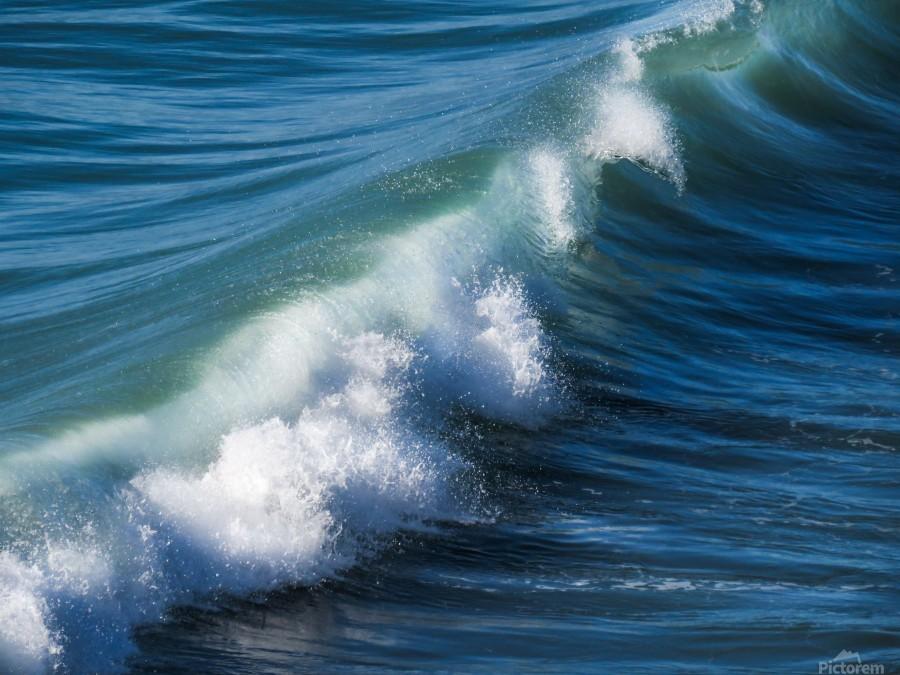 Wave of Changes - Vague de Changements  Print