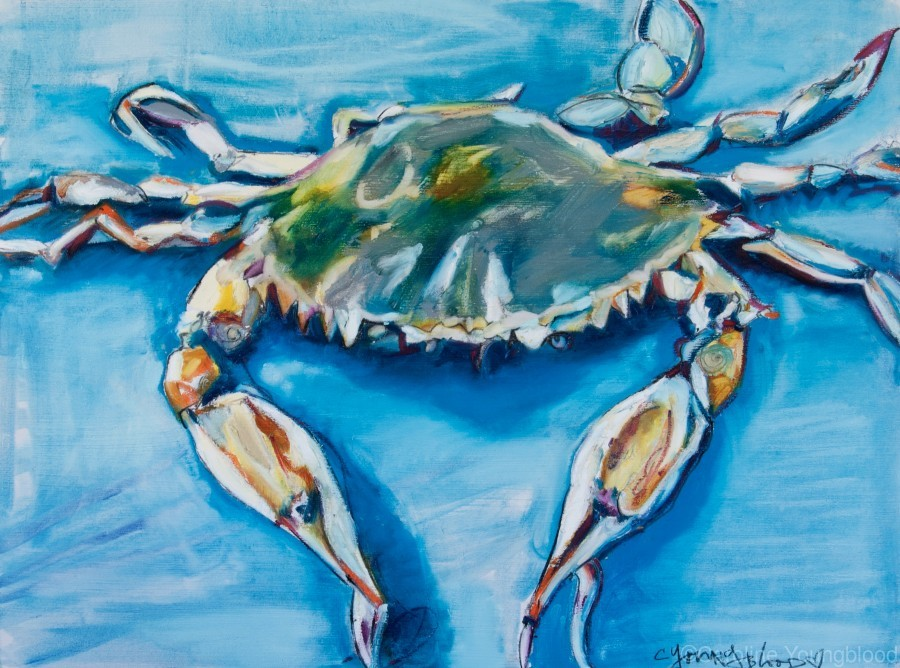 Louisiana He Soft Shell Crab  Print