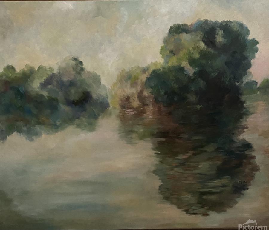 Monet study two  Print