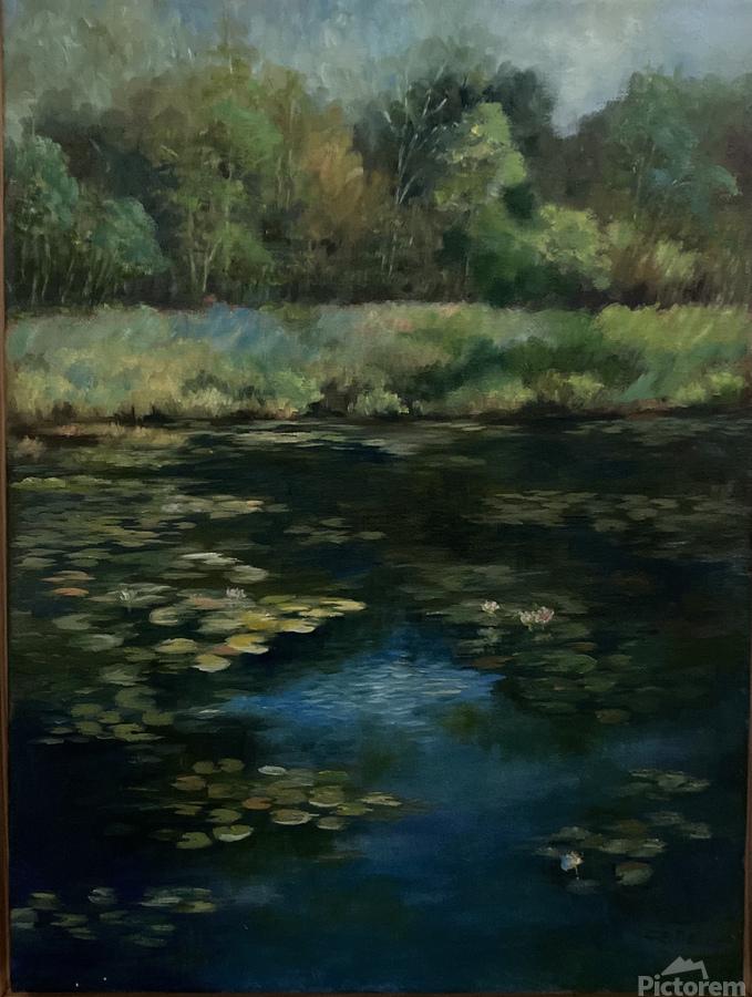 Calhoun pond  Print