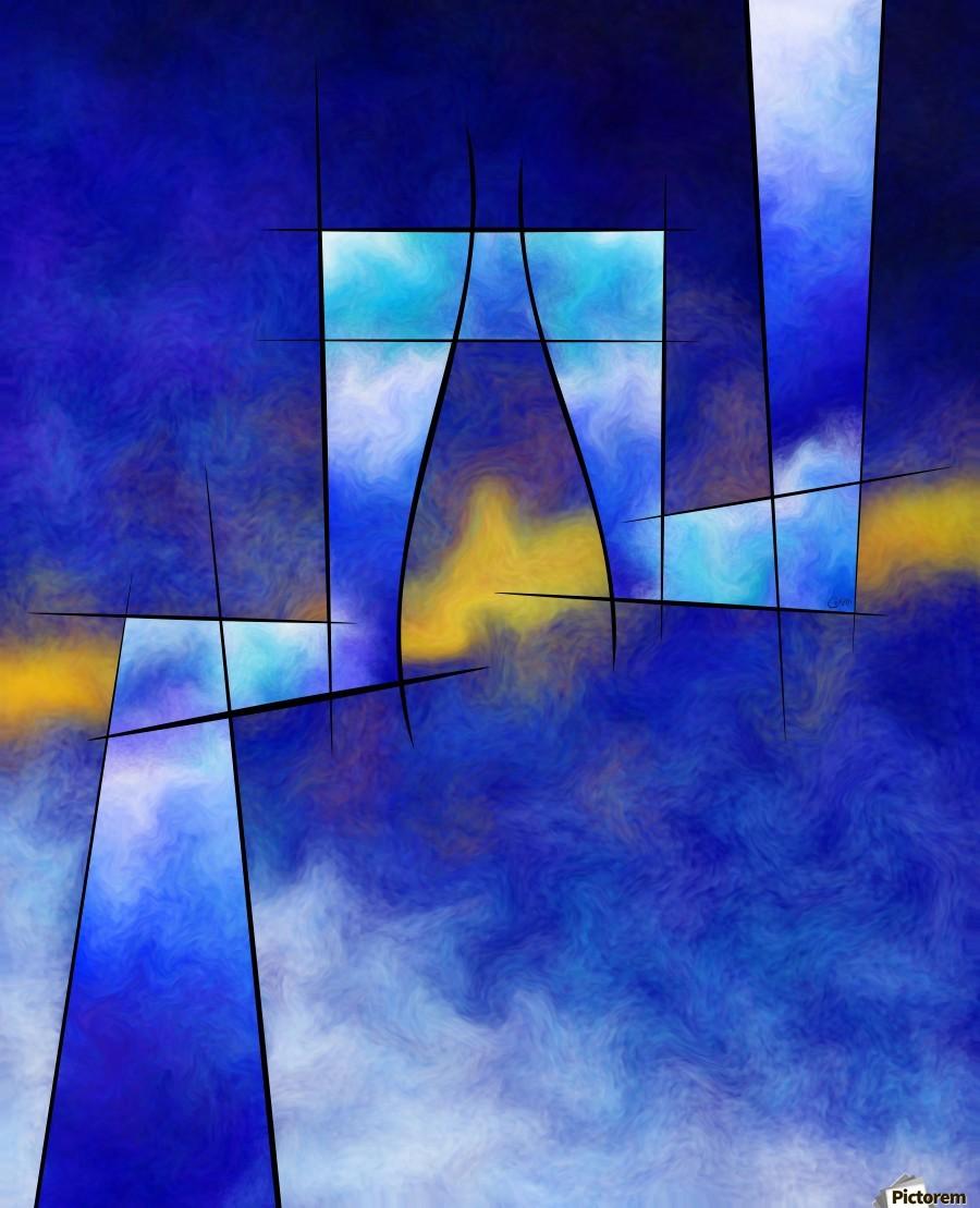 Kefharia V1 - cubic vision  Print