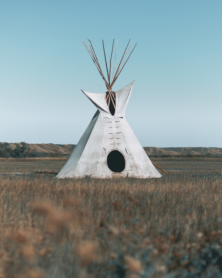 Cree Tipi  Print