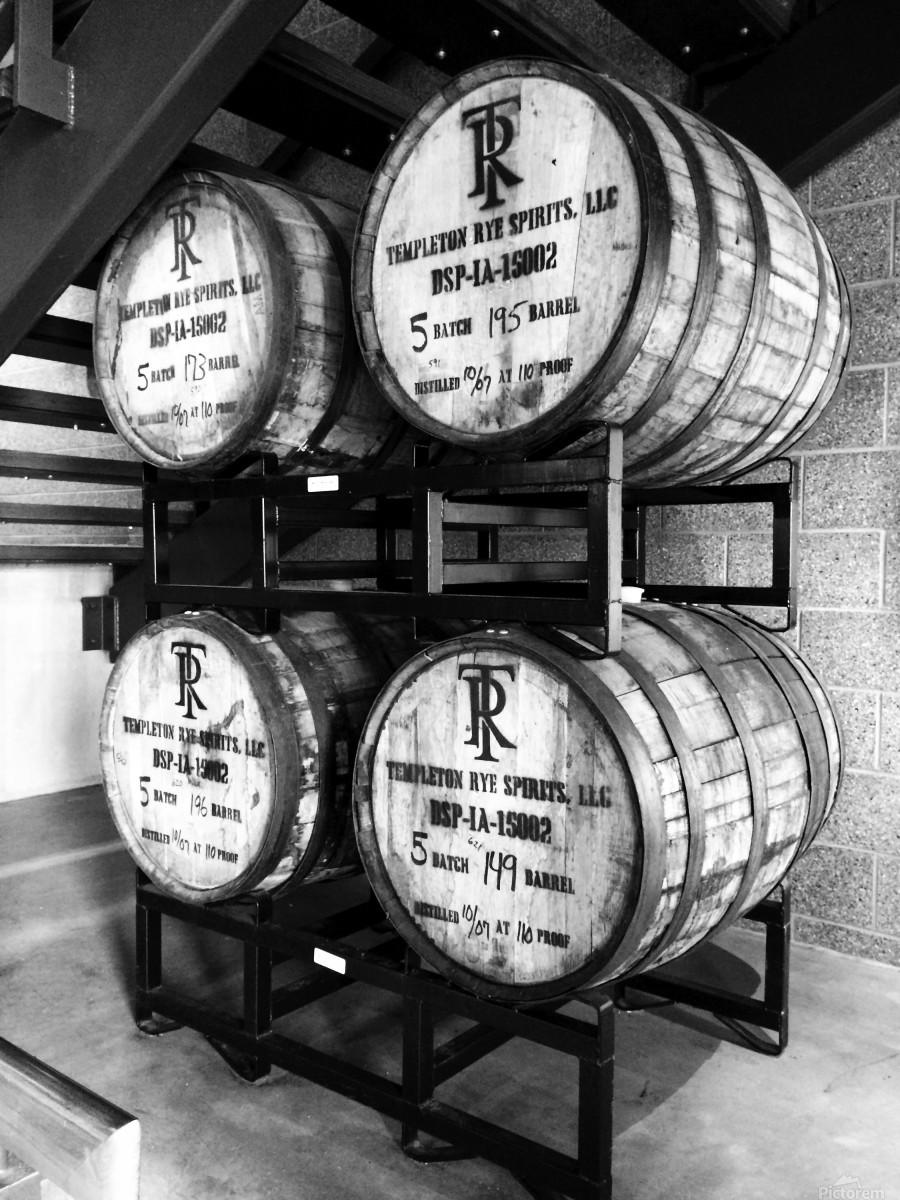 Whisky Barrels  Print