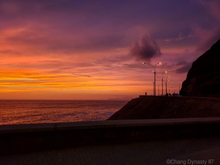 Costa Verde Sunset   Print